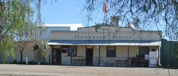 Homebush Hotel PENARIE VIA BALRANALD NSW