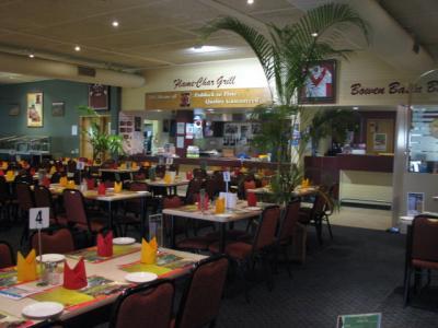 Black Nugget Hotel Motel Flame Char Bistro Dining room