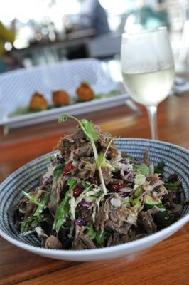 SLOW ROASTED MOROCCAN LAMB SALAD
