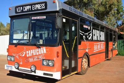 Capricorn Bar & Grill - Cappy Xpress Bus Service to Newman