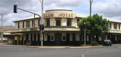 The Craft Bar at the Club Hotel, Kingaroy