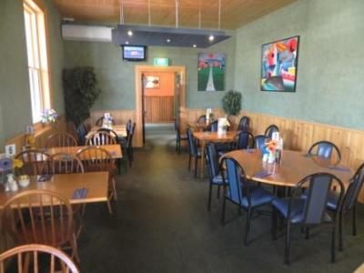 Modern Cafe serving meals, snacks, coffees, takeaways