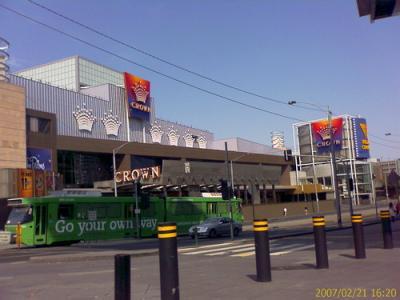 Crown Promenade Southbank Vic