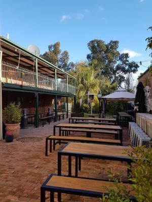 Exchange Hotel Beer Garden