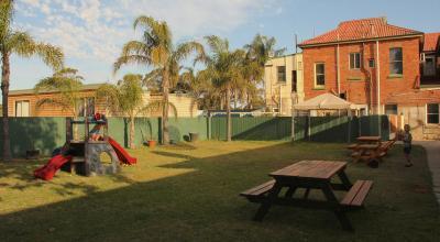 Beer Garden with playground