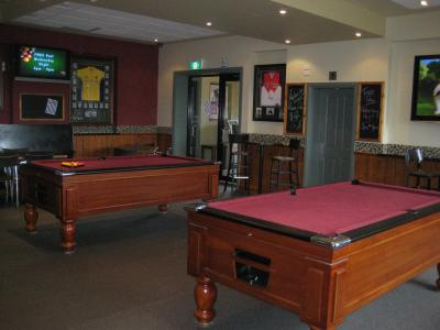 two Pool tables are here for you