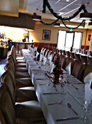 Christmas celebration in our function room