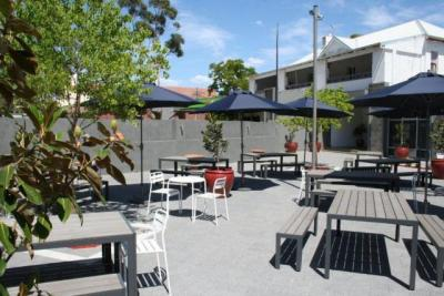 """The Newly Renovated """"Officers Courtyard"""""""