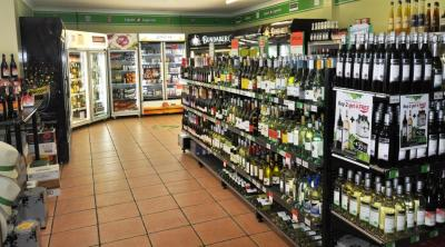 Drive-thru bottleshop