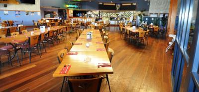 Westbrook Tavern dining room