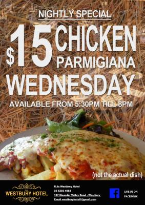 Wednesday Night Parmy Special