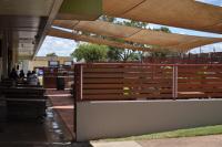 Black Nugget Hotel Motel outdoor Beer Garden