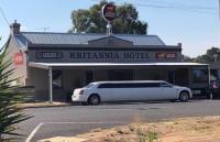 The Brittania Hotel.