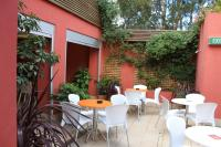 Beer Garden at the Camelia Grove Hotel
