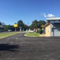 Fully sealed drive way and parking area