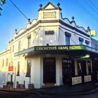 The Cricketers Arms Hotel.