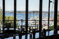 Enjoy lunch on the water