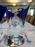 Room is setup for one of our many weddings