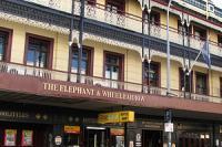 The Elephant And Wheelbarrow