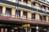 The Elephant And Wheelbarrow