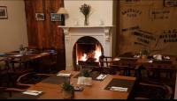 Tooma Inn fireplace Dining