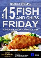 Fish N Chip Friday Special