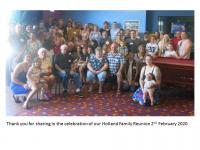Family Reunion booking, thank you - review image 1